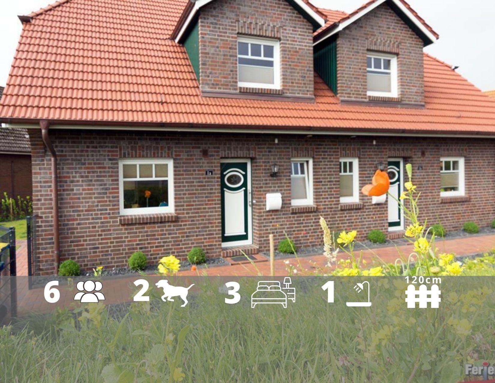 Ferienhaus Chalet am Deich 1 in Ostfriesland