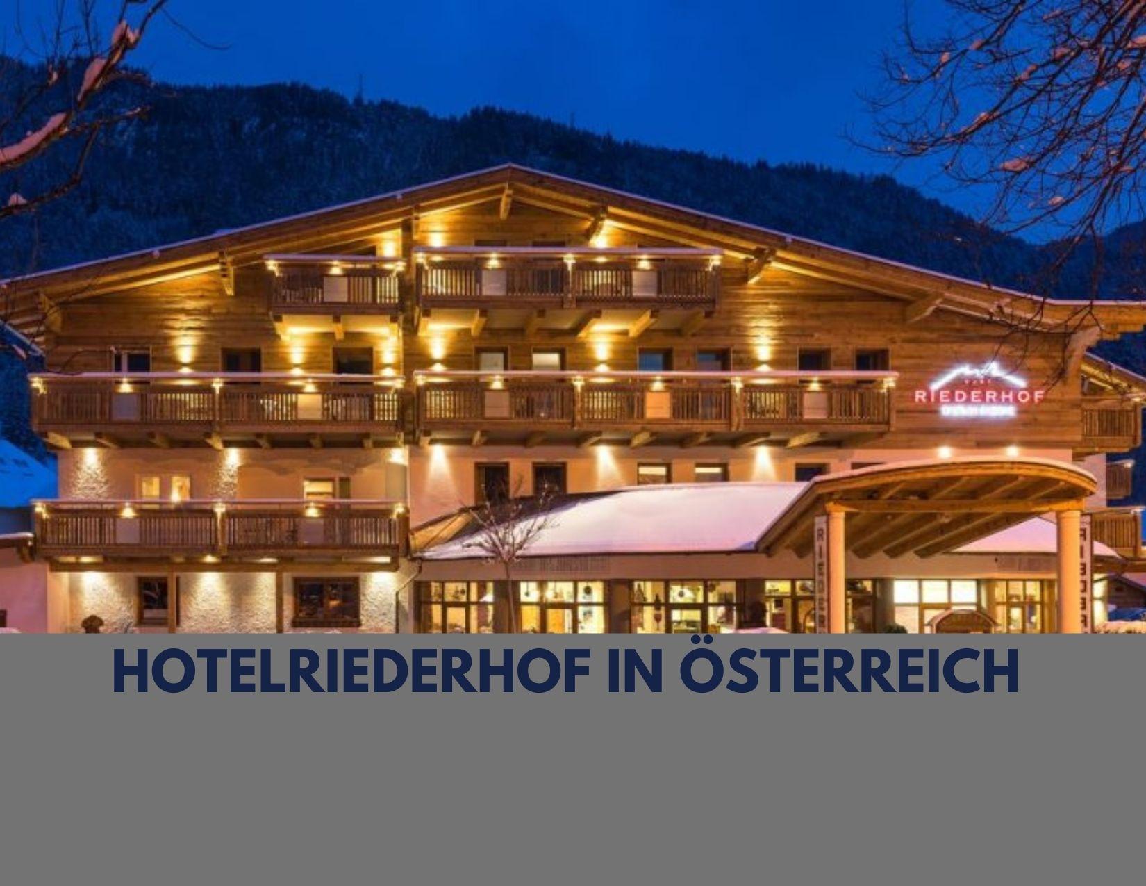 Hotel Riederhof - Hundehotel in Tirol - Österreich