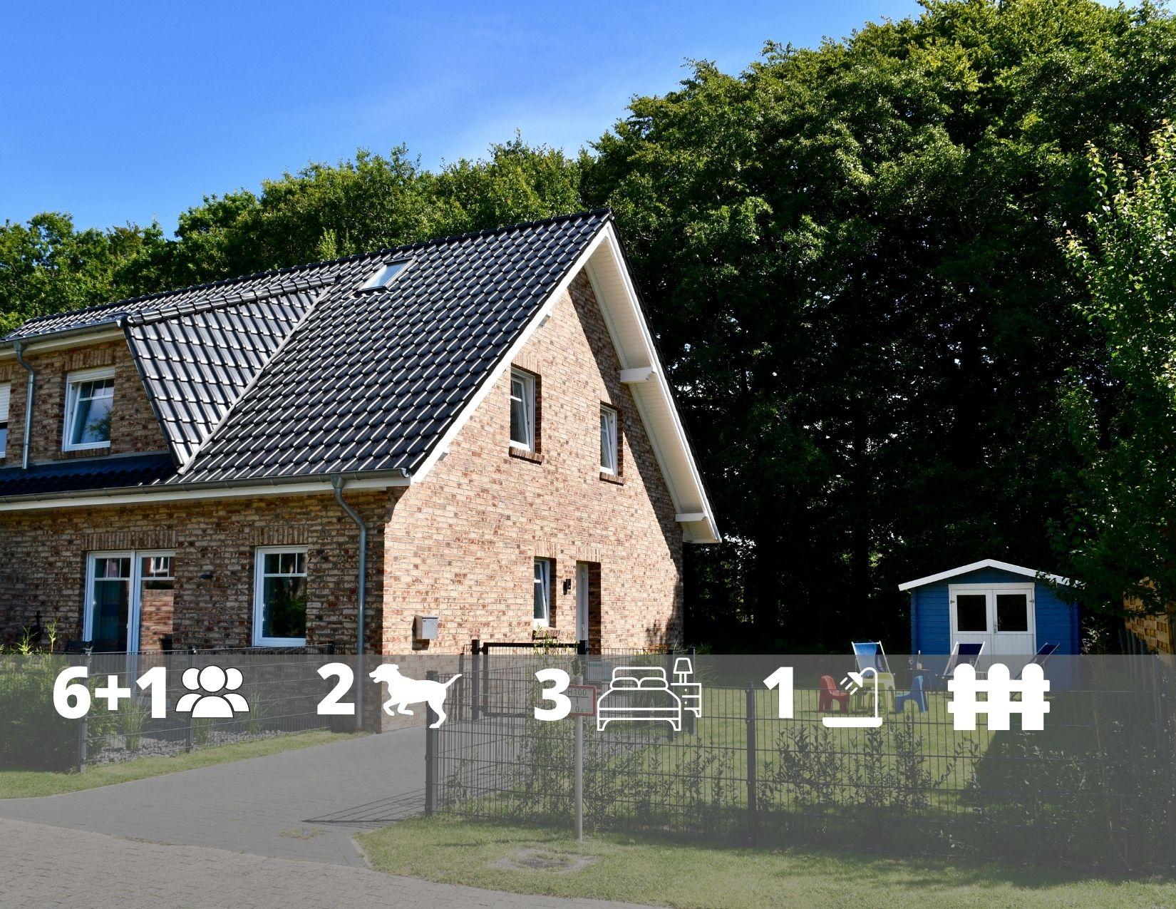 Nordsee Ferienhaus Huus lüttje Finja