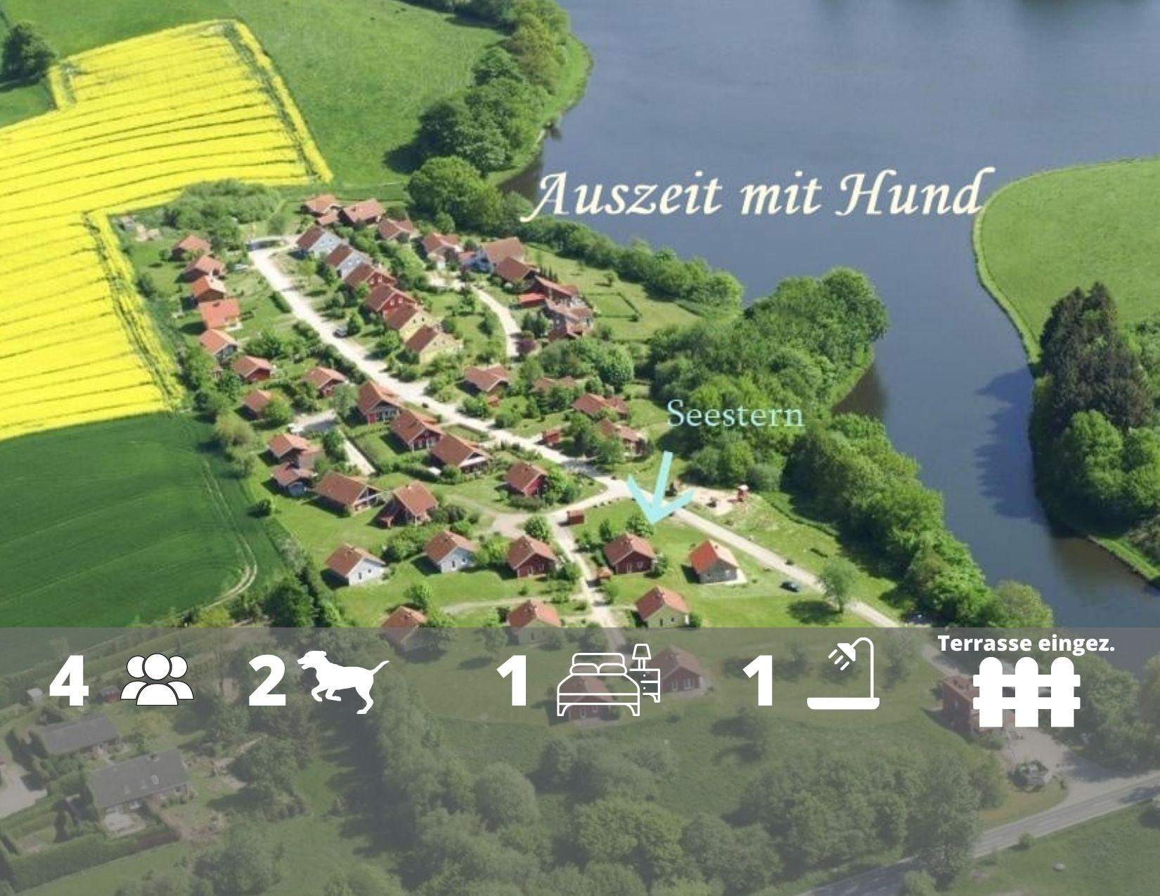 Ferienhaus SeesternOstsee - in Schönwalde, nur 200m bis zum See