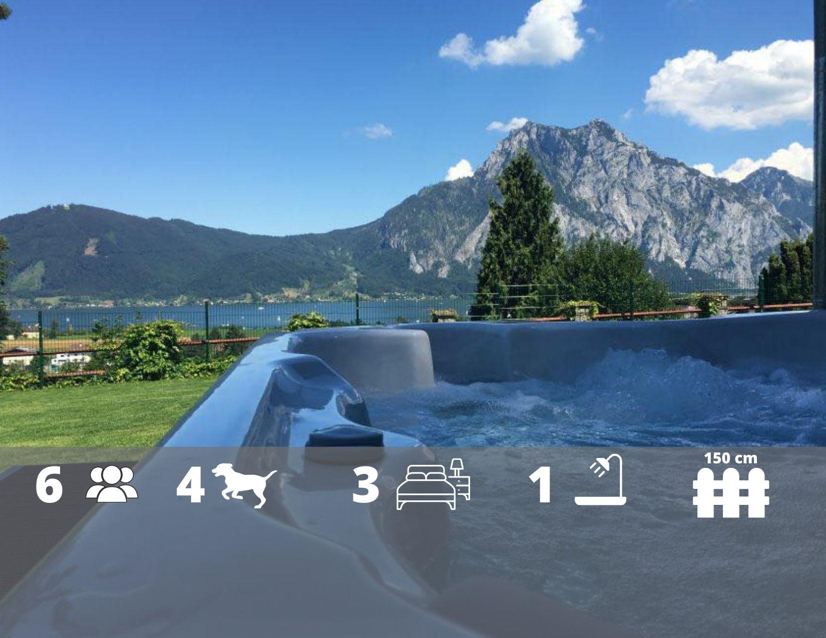 Ferienhaus Im Sacherl mit Sauna, Whirlpool, Seeblick - Österreich