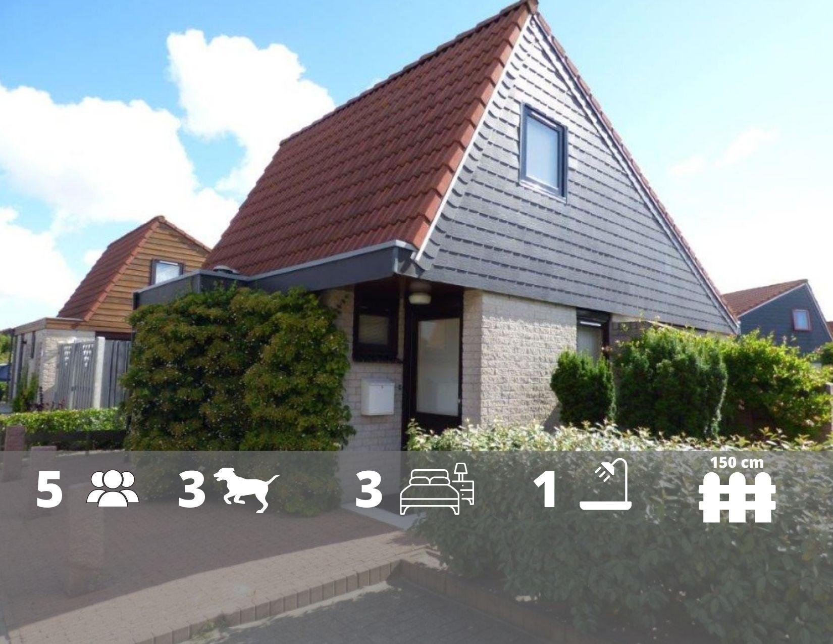 Ferienhaus Yperhof 17 in Julianadorp - nur 950m bis zum Strand