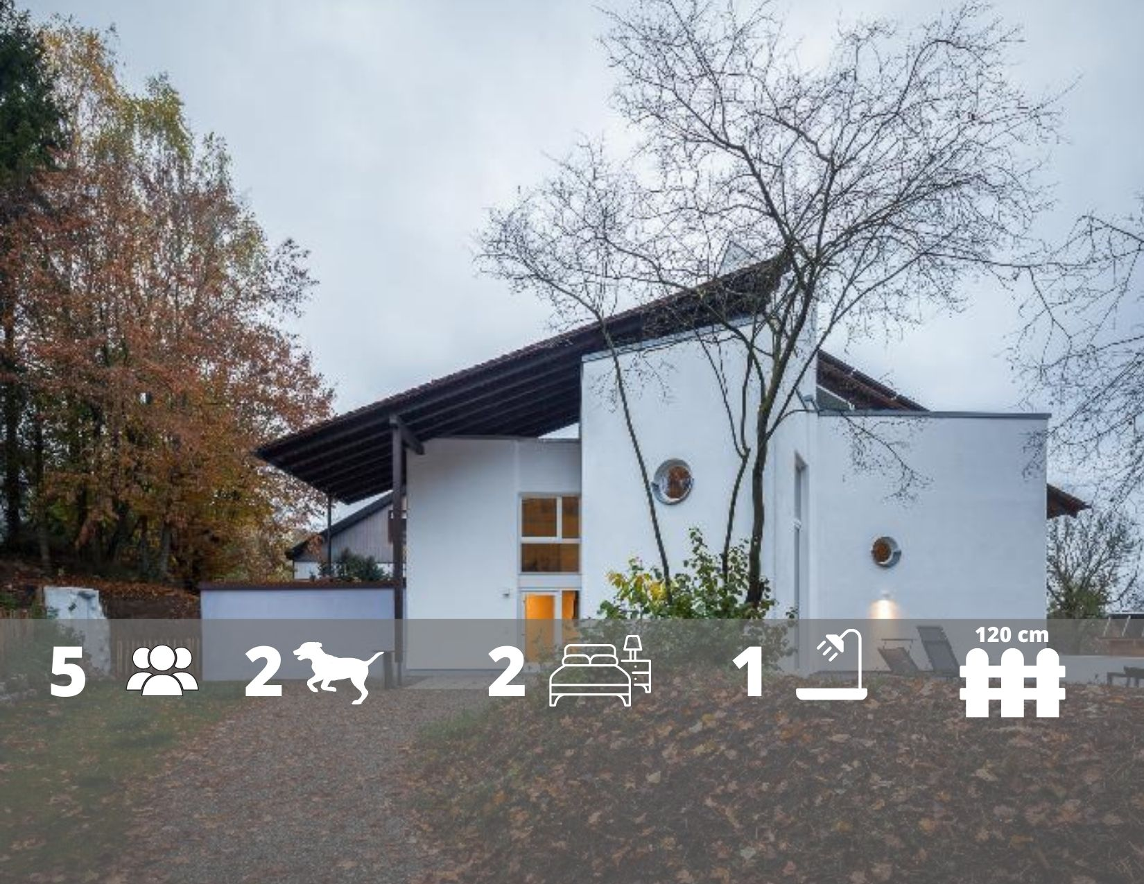 Ferienhaus Staege bau in Rot am See