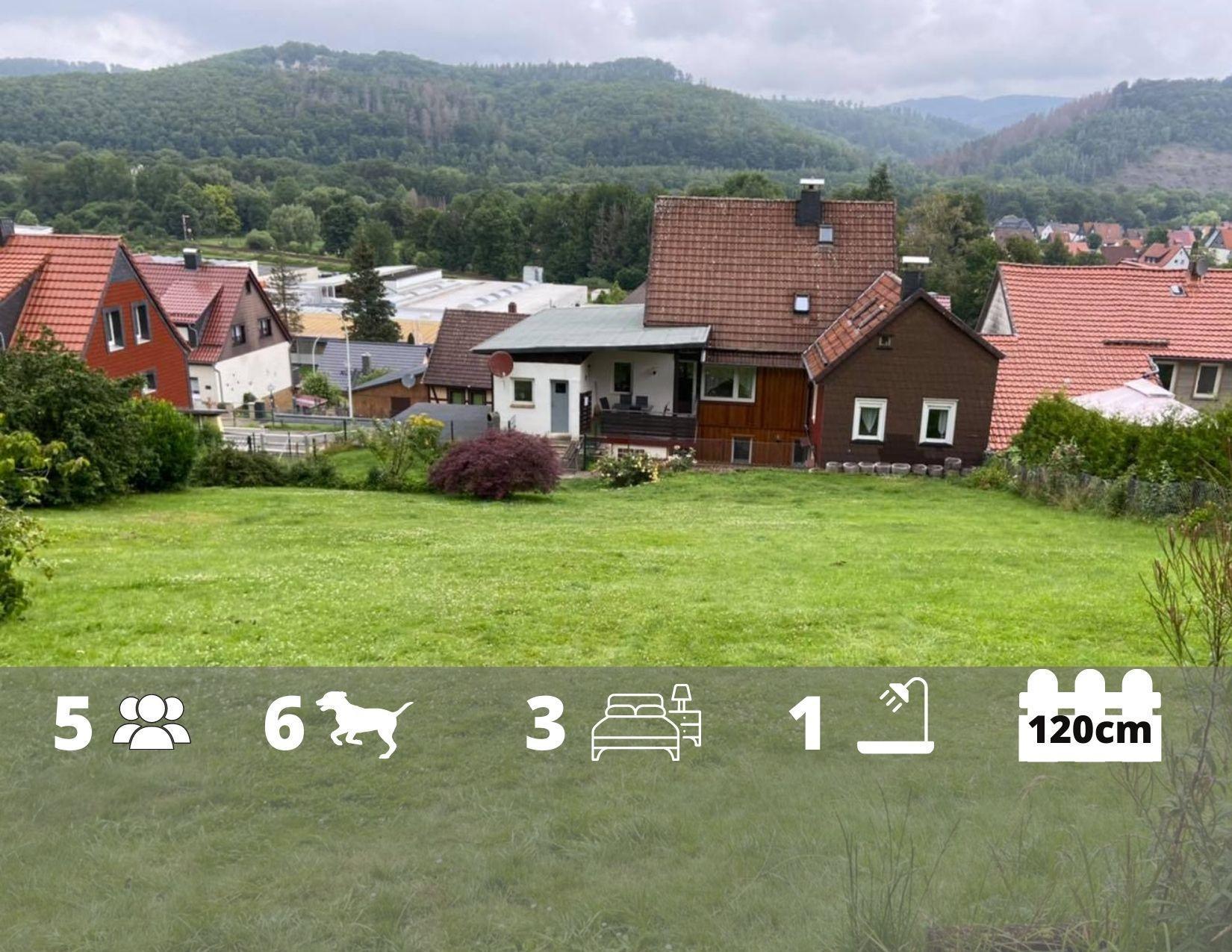 Ferienwohnung Lilly 2 in Bad Lauterberg im Harz - 1500qm eingezäunter Garten